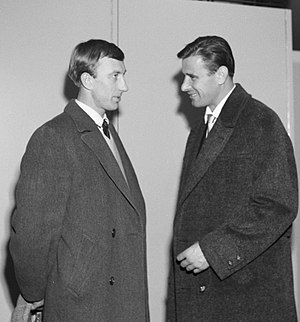 Igor Netto - Igor Netto (left) and Lev Yashin in 1961
