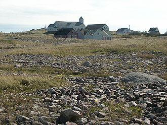 L'Île-aux-Marins - The abandoned settlement on L'Île-aux-Marins.