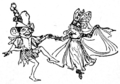 Illustration at page 46 in Grimm's Household Tales (Edwardes, Bell).png