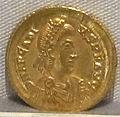 Impero d'oriente, arcadio, emissione aurea, 383-408, 01.JPG