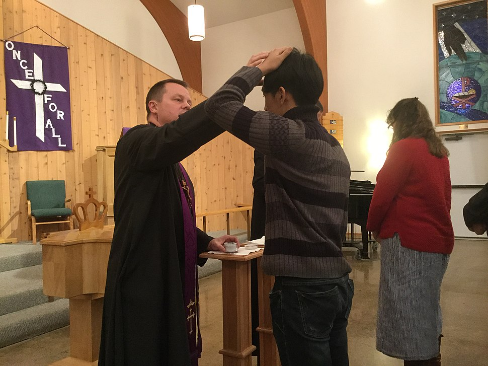 Imposition of Ashes at Bethany Lutheran Church