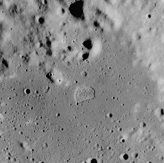 Lacus Felicitatis - Apollo 17 Mapping camera image of Ina (center)
