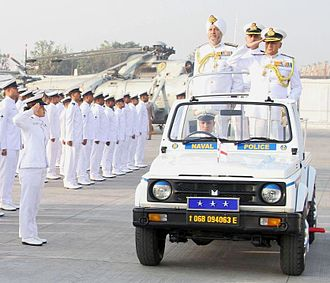 Three-star rank - Image: Indian navy vice admiral