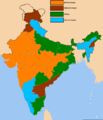 Indian states by cm party.png