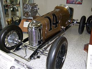 1928 Indianapolis 500 - Image: Indy 500winningcar 1928