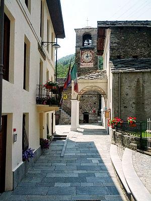 Ingria, Piedmont - Image: Ingria (TO) Piazza