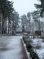 Inpen 2010 first snow memorial to the warriors of the Great Patriotic War.jpg