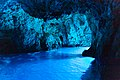Inside the Blue Cave on Bisevo island, Croatia (48693429148).jpg