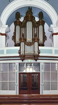 Intenieur, aanzicht orgel, orgelnummer 1391 - Spierdijk - 20417340 - RCE.jpg
