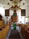 interieur kerk nieuweschans