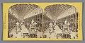 Interieur van het Palace of Art and Industry op de Wereldtentoonstelling van 1862, gezien vanaf de oostzijde The Nave, from the Eastern Dome (titel op object) The International Exhibition of 1862 (serietitel op object), RP-F-F10846.jpg