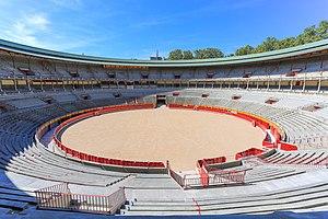 Plaza de Toros de Pamplona - Interior of the ring