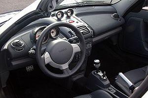 Smart Roadster - Interior Smart Roadster.