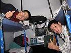 Interior of an Indian Railways 3 Tier AC coach 01 (Friar's Balsam Flickr).jpg