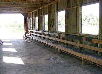 Scio, Ohio - Inside the community's covered bridge