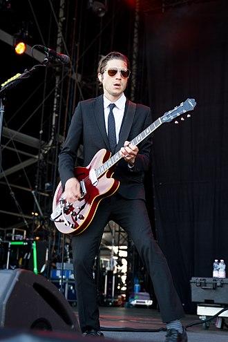 Daniel Kessler (guitarist) - Kessler performing with Interpol in 2015