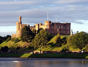 Inverness - Image: Inverness Castle and River Ness Inverness Scotland conner 395
