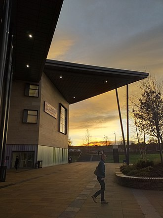 Inverness College, UHI Inverness College UHI exterior.jpg