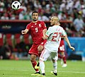 Iran and Spain match at the FIFA World Cup 24.jpg