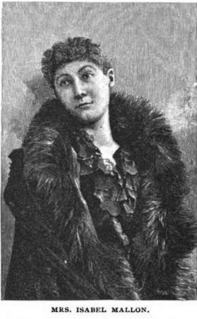 Isabel Mallon American writer