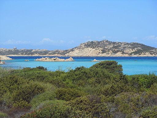Isola di Budelli. Arcipelago della Maddalena