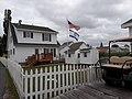 Israeli flag in front of Tangier Island house (1).jpg