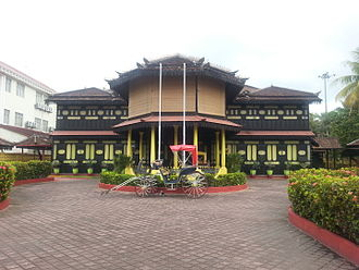 Kota Bharu - Image: Istana Jahar, Kota Bharu
