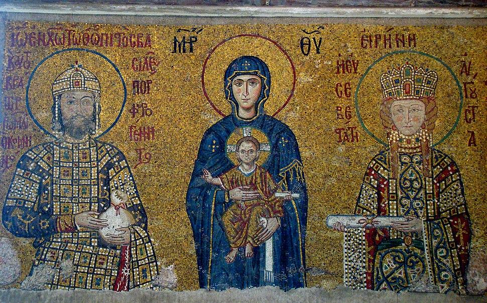 Istanbul 2009 Comnenus Mosaics