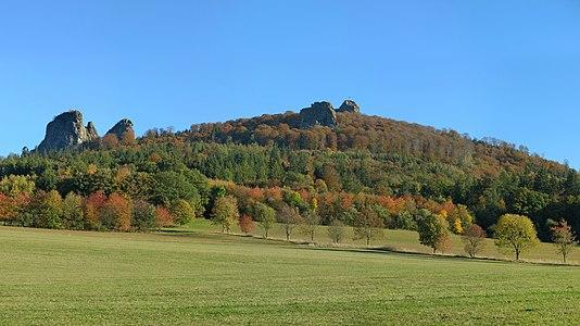 """Rocks """"Bruchhauser Steine"""" in the Sauerland"""