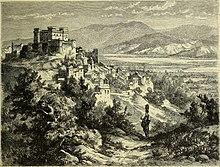 Litografia di Celano del 1877 (Italy from the Alps to Mount Etna)