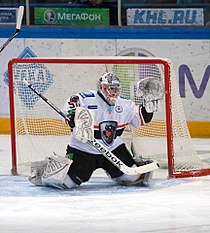 Ján Laco and Alexander Krysanov 2012-01-10 Amur—Lev KHL-game.jpeg