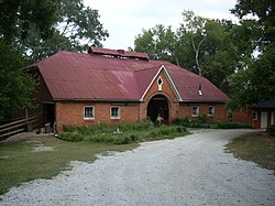 J. C. Striblin Barn, Pickens County, 220 Issaqueena Trail, Clemson (Pickens County, South Carolina).JPG