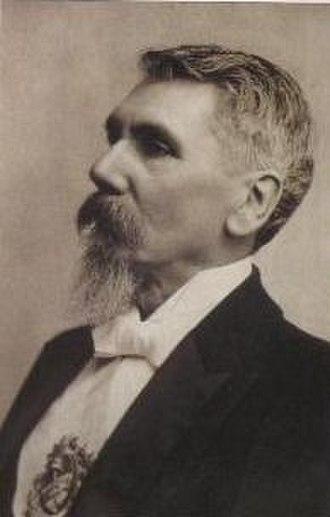 1904 Argentine presidential election - Image: JE Uriburu