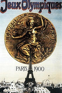 1900 Summer Olympics Games of the II Olympiad, celebrated in Paris (France) in 1900