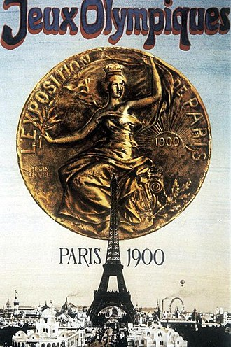 1900 Summer Olympics - Poster for the 1900 Summer Olympics