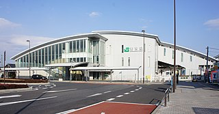 Suzumenomiya Station Railway station in Utsunomiya, Tochigi Prefecture, Japan
