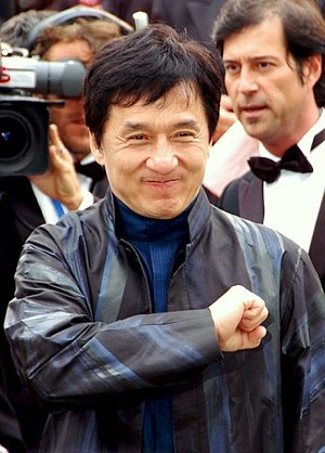 English: Jackie Chan at the Cannes Film festival.