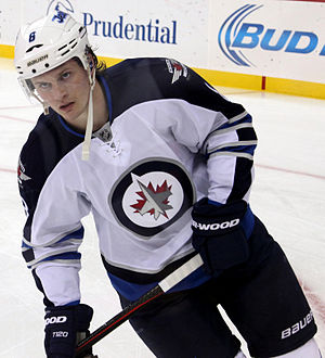 Jacob Trouba - Image: Jacob Trouba Winnipeg Jets 2014