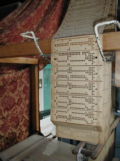 Punched card recording medium