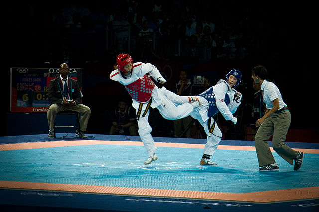 Jade Jones at the 2012 London Olympics, image: Nizam Uddin