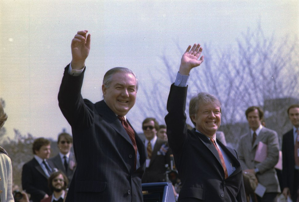 James Callaghan Prime Minister of England and Jimmy Carter - NARA - 173998