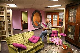 Pride Library - Interior of the Pride Library.