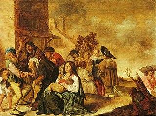 Gypsies in a Village
