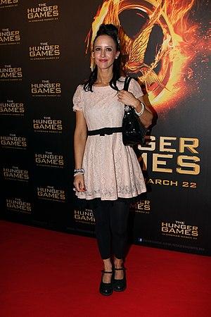 Jane Gazzo - Gazzo at The Hunger Games Sydney, Australia Premiere in March 2012.