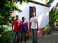 January 2012 - Haiti, two years on Handing over refurbished homes in Leogane (6686597929).jpg