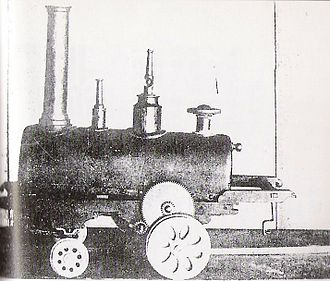 Tanaka Hisashige - Image: Japan Steam Engine 1853