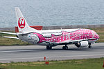 Japan Transocean Air, B737-400, JA8992 (18266031369).jpg