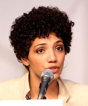 Jasika Nicole at the 2010 Comic Con in San Diego
