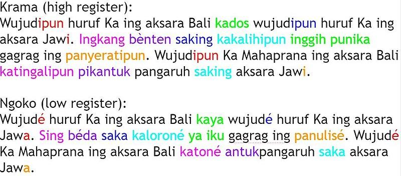 Bahasa Jawa Wikiwand