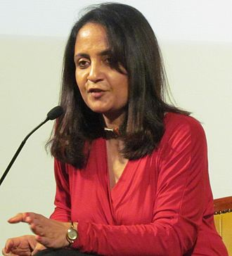 Jaishree Misra - Jaishree Misra in a literary programme conducted by Sharjah International Book Fair 2011 on 24 November 2011